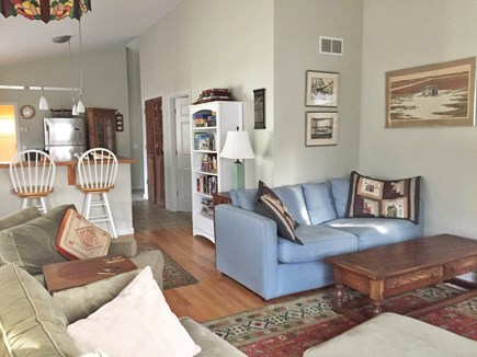 Oak Bluffs Martha's Vineyard vacation rental - Bookcase with vineyard reading, guides, maps, games