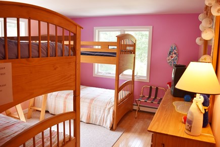 Katama - Edgartown, Katama Martha's Vineyard vacation rental - Bedroom # 4 First Floor, Two Single Bunk Beds