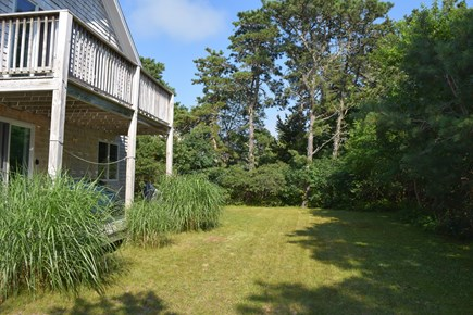 Katama - Edgartown, Katama Martha's Vineyard vacation rental - Rear Decks Opens To Yard,