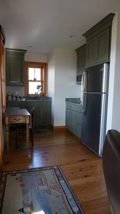 Oak Bluffs, Lagoon Pond Waterfront Martha's Vineyard vacation rental - Downstairs Kitchenette. Perfect for guests on 1st floor