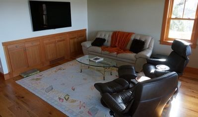 Oak Bluffs, Lagoon Pond Waterfront Martha's Vineyard vacation rental - Media Room