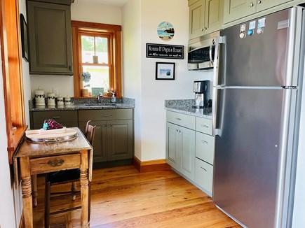 Oak Bluffs, Lagoon Pond Waterfront - salt Martha's Vineyard vacation rental - Kitchenette serving media room and bedrooms on entry level