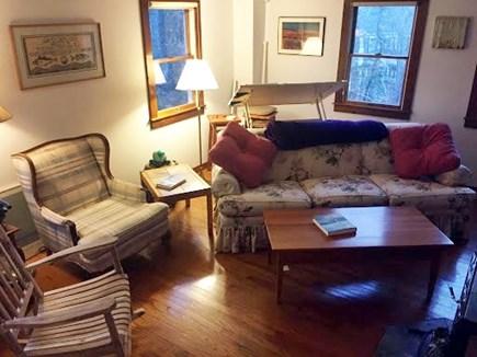 Vineyard Haven Martha's Vineyard vacation rental - Open living/dining floor plan with wooded floors