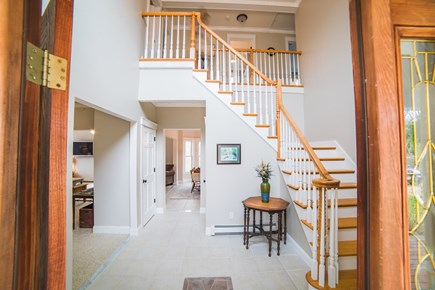 West Tisbury Martha's Vineyard vacation rental - Large open foyer