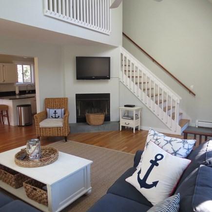 Katama - Edgartown, Edgartown Martha's Vineyard vacation rental - Another view of the spacious living room