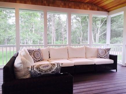 Katama - Edgartown, Edgartown Martha's Vineyard vacation rental - Screened porch....now this is the way to relax