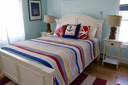 Chappaquiddick, Edgartown Martha's Vineyard vacation rental - Bedroom with king bed.  Currently renovating new pic on the way