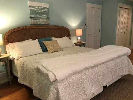 Chappaquiddick, Edgartown Martha's Vineyard vacation rental - King bed, AC and newly redecorated.