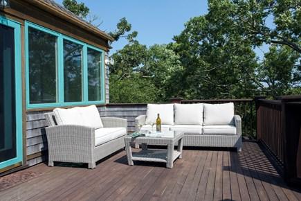 Chappaquiddick, Edgartown Martha's Vineyard vacation rental - Lovely outdoor sitting area