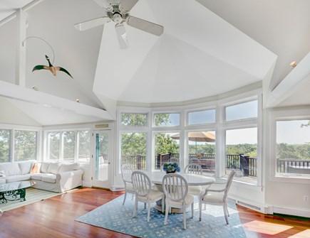Chappaquiddick, Edgartown Martha's Vineyard vacation rental - Great view from dining area