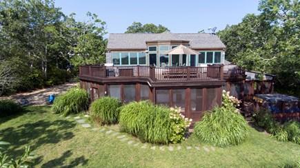 Chappaquiddick, Edgartown Martha's Vineyard vacation rental - View of 6 bedroom Chappy home