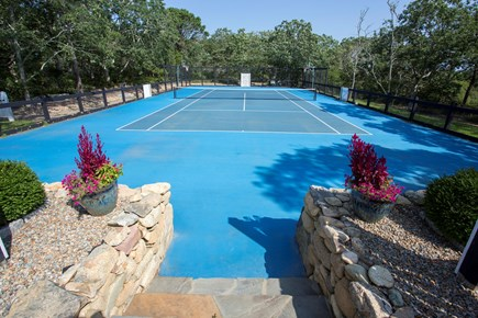 Chappaquiddick, Edgartown Martha's Vineyard vacation rental - Tennis and basketball court