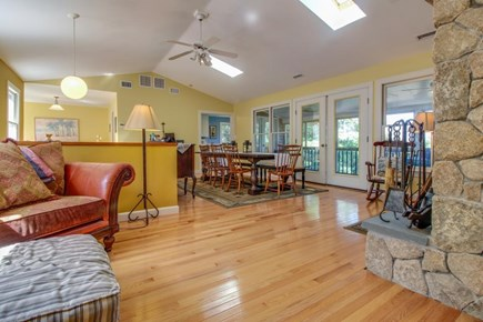 Edgartown Martha's Vineyard vacation rental - Dinners can be enjoyed in the expansive open dining room