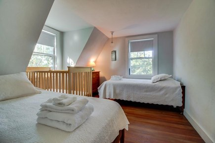 Vineyard Haven Martha's Vineyard vacation rental - Queen-size bed, twin bed, and a crib. Perfect for a small family!