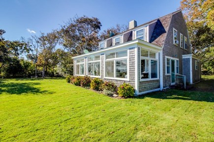 Vineyard Haven Martha's Vineyard vacation rental - Enjoy the view from the beautiful yard or oversized bay windows