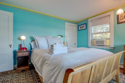 Vineyard Haven Martha's Vineyard vacation rental - Private room with queen bed, closet for storing clothes, & a TV