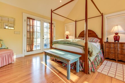 Oak Bluffs Martha's Vineyard vacation rental - Second suite offers a queen bed w/ access to deck