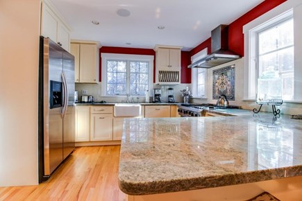 Oak Bluffs Martha's Vineyard vacation rental - Kitchen comes w/ high-end appliances like a French-door fridge