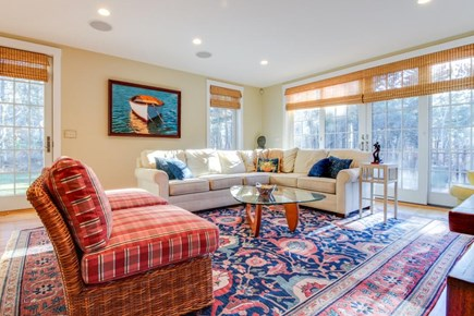 Oak Bluffs Martha's Vineyard vacation rental - Enjoy scenery from expansive windows in the living room