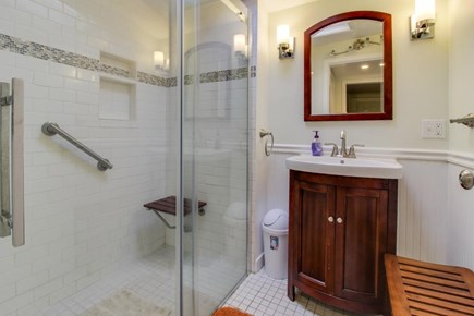 Oak Bluffs Martha's Vineyard vacation rental - 1st floor has a full bathroom with a large stall shower