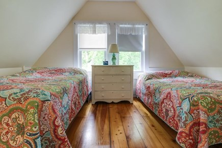 Oak Bluffs Martha's Vineyard vacation rental - Upstairs room with 2 double-size beds