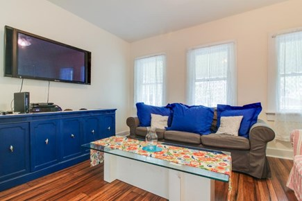 Oak Bluffs Martha's Vineyard vacation rental - Enjoy time indoors & watch a DVD on the flatscreen cable TV