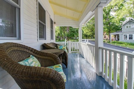 Oak Bluffs Martha's Vineyard vacation rental - Relax on the front porch or travel 2 blocks to Oak Bluffs Harbor