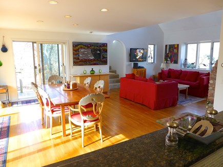 Edgartown Martha's Vineyard vacation rental - Bright and open kitchen, living, and dining room.