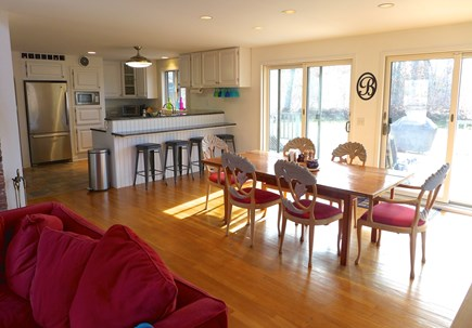 Edgartown Martha's Vineyard vacation rental - Three large sliders to let in the cool island breezes