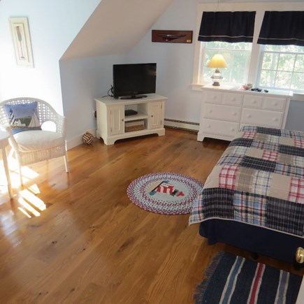 Vineyard Haven Martha's Vineyard vacation rental - View of the guest room. Both 2nd floor BR's share a full bath.