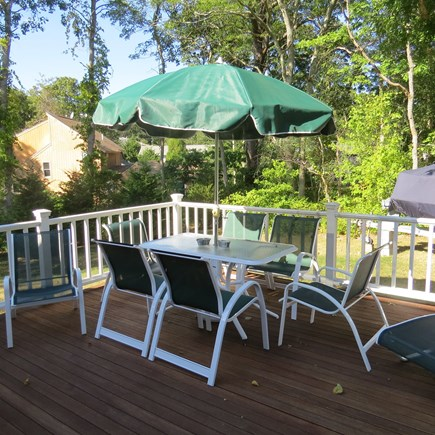 Vineyard Haven Martha's Vineyard vacation rental - from dawn into the evening enjoy your time on your private deck