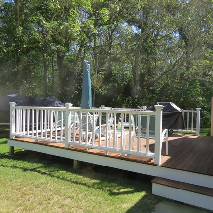 Vineyard Haven Martha's Vineyard vacation rental - relax & enjoy cocktails while the chef handles the grill