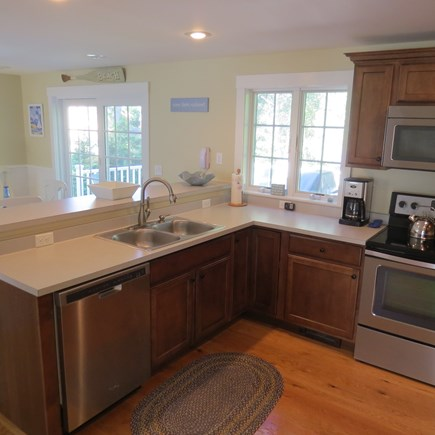Vineyard Haven Martha's Vineyard vacation rental - Another view of the kitchen