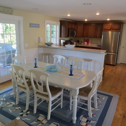 Vineyard Haven Martha's Vineyard vacation rental - open dining, kitchen and living