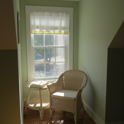 Vineyard Haven Martha's Vineyard vacation rental - reading nook in the guest room