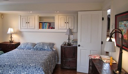 West Tisbury, Makonikey Martha's Vineyard vacation rental - Queen Bedroom en suite with private balcony area