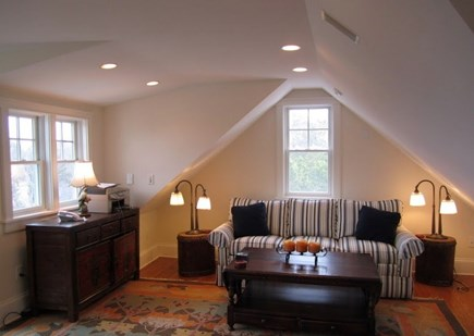 West Tisbury, Makonikey Martha's Vineyard vacation rental - Spacious with 3rd floor TV/Office with private deck & Bath