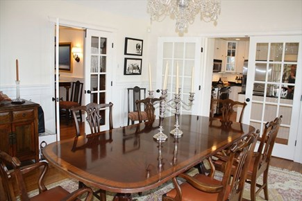 West Tisbury, Makonikey Martha's Vineyard vacation rental - Elegant formal dining room