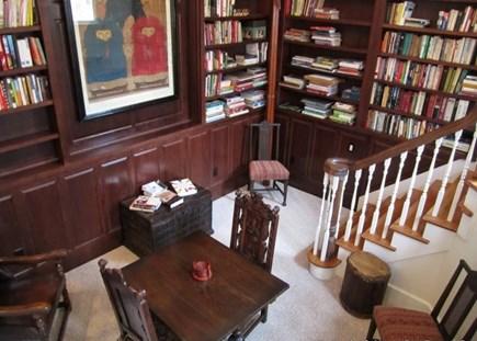 West Tisbury, Makonikey Martha's Vineyard vacation rental - Generously filled Reading Library and office area