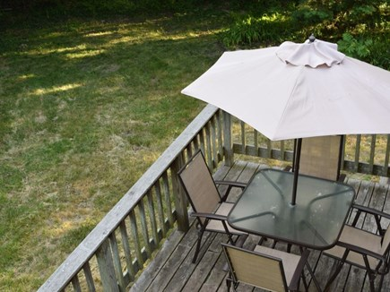 Oak Bluffs, Close to Town Martha's Vineyard vacation rental - Dining on the deck