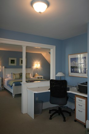 Oak Bluffs, East Chop Martha's Vineyard vacation rental - Master Suite #2 with office & shared bath.
