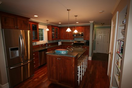 Oak Bluffs, East Chop Martha's Vineyard vacation rental - Custom cherry cabinetry, granite tops & stainless appliances!