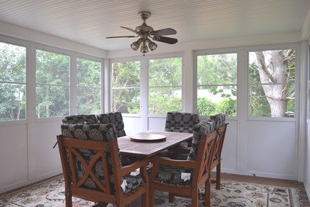 Oak Bluffs Martha's Vineyard vacation rental - Relaxing screened in Porch