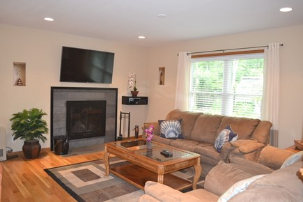 Oak Bluffs Martha's Vineyard vacation rental - Open Living Area with Flat Screen TV