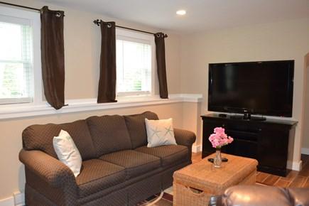 Oak Bluffs Martha's Vineyard vacation rental - Lower Level Den with Flat Screen TV