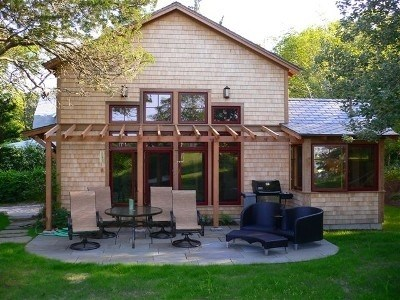 Oak Bluffs Martha's Vineyard vacation rental - Charming Two Bedroom Guesthouse with Slate Patio