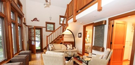Oak Bluffs Martha's Vineyard vacation rental - Open Living Space in the Guest House