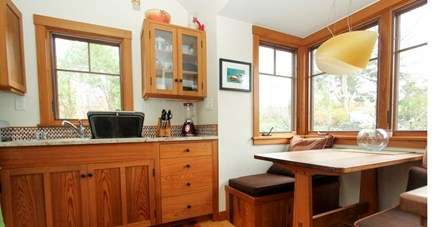 Oak Bluffs Martha's Vineyard vacation rental - Sunny Kitchen Space in Guest House