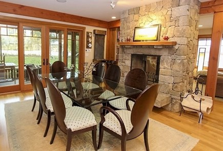Oak Bluffs Martha's Vineyard vacation rental - Elegant Dining Area that Leads to Screen Porch