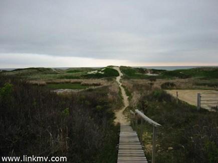 Aquinnah Martha's Vineyard vacation rental - Path to the beach
